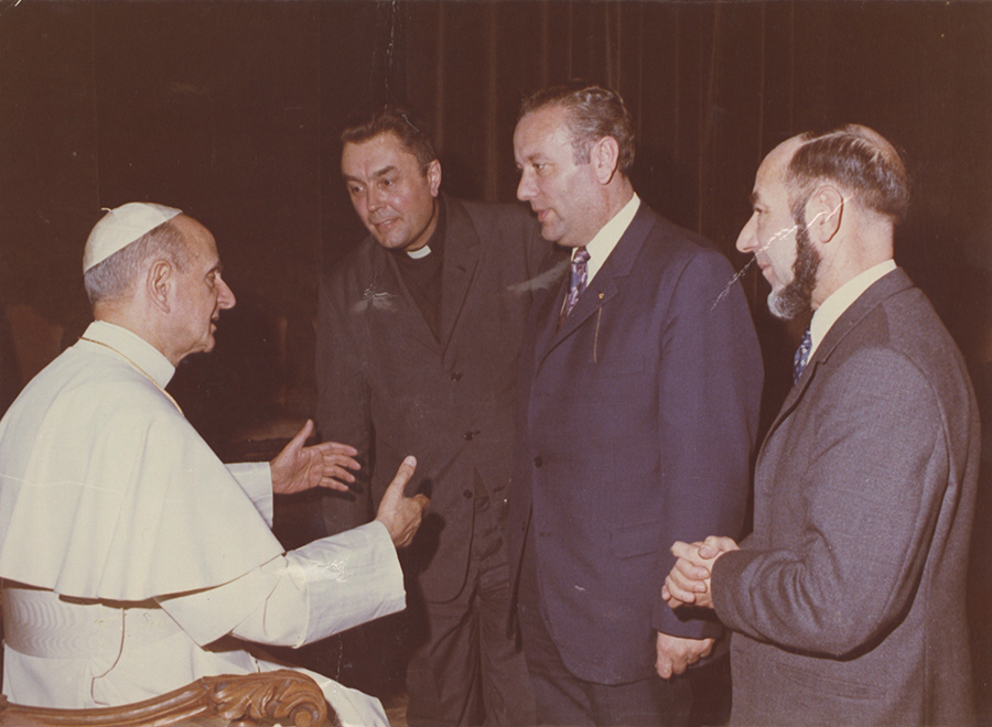 Pope Audience in 1975